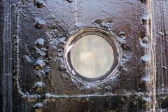 грузите окно Окно маломерного судна большого standi торгового судна Стоковая Фотография RF