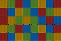 Грузить контейнеров Стоковое Фото