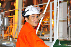 грузить philippines инженера стоковая фотография
