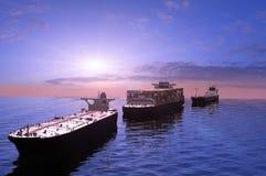грузовие корабли бесплатная иллюстрация