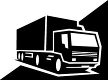 грузовик Стоковое Изображение