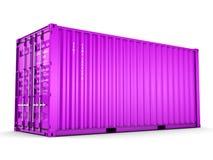 грузовой контейнер перевода 3D иллюстрация штока