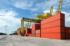 грузовой контейнер Стоковая Фотография
