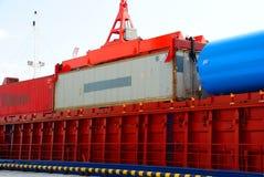 грузовой контейнер Стоковое Изображение RF
