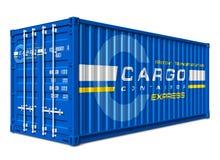грузовой контейнер Стоковое Фото