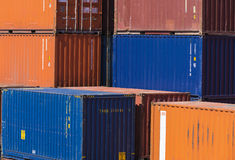 Грузовой контейнер Стоковые Фотографии RF