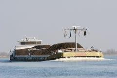 Грузовой корабль в Голландии стоковые изображения