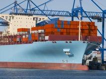 Грузовой корабль контейнера Стоковое фото RF