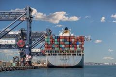 Грузовой корабль, порт Сиднея Стоковые Изображения
