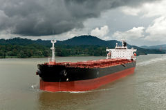 грузовой корабль Стоковая Фотография