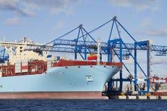 Грузовой корабль контейнера Стоковые Изображения