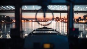 Грузовой корабль на навигации реки акции видеоматериалы