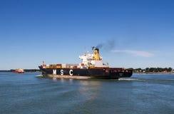 Грузовой корабль Панамы Майя MSC Стоковое Изображение