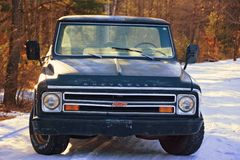 Грузовой пикап 1967 Chevy c 10 классики стоковое изображение