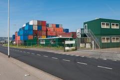 грузовые контейнеры Стоковое фото RF