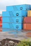 Груз контейнера Стоковое Изображение RF