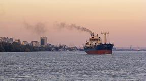 Груз на Дунае Стоковые Изображения RF