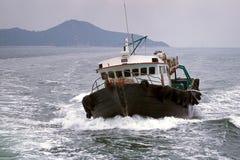 груз плавает сосуд моря Стоковая Фотография RF
