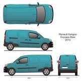 Груз Renault Kangoo макси Стоковые Фотографии RF