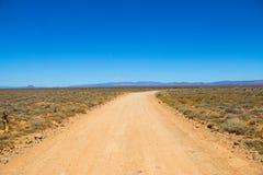 Грунтовая дорога к нигде Стоковые Изображения RF