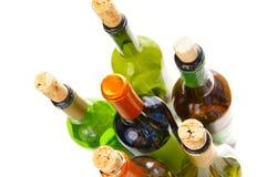 группа бутылки Стоковое фото RF