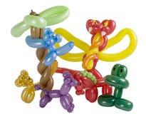 группа воздушного шара животных Стоковое Фото