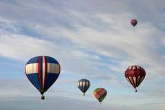 группа воздушных шаров горячая Стоковая Фотография