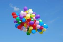 группа воздушных шаров Стоковые Фото