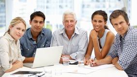 Группа в деловой встрече Стоковое Изображение RF