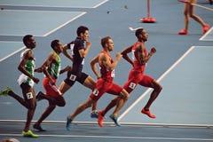 Группа в составе бежать спортсменов Стоковое Фото