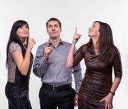 Группа в составе 3 бизнесмены стоковое изображение rf