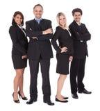 Группа в составе бизнесмены совместно Стоковое Изображение