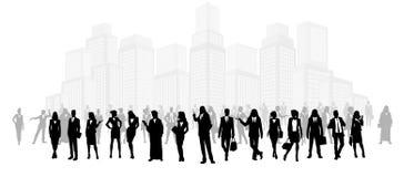 Группа в составе бизнесмены Стоковая Фотография RF