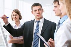 Группа в составе бизнесмены Стоковое Изображение RF