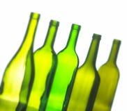 Группа в составе бутылки вина Стоковые Изображения RF