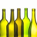 Группа в составе бутылки вина Стоковое Изображение RF