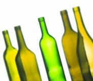 Группа в составе бутылки вина Стоковые Фото