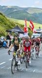 Группа в составе велосипедисты Стоковая Фотография RF