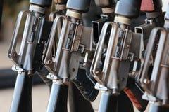 Группа в составе воинские винтовки Стоковое Изображение