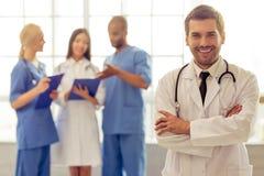 Группа в составе врачи Стоковое Изображение