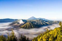 Группа в составе вулканы Стоковое Изображение