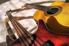 Группа в составе гитары Стоковое Фото