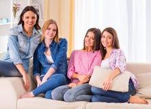 Группа в составе девушки Стоковая Фотография RF