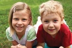 Группа в составе дети Стоковое Фото
