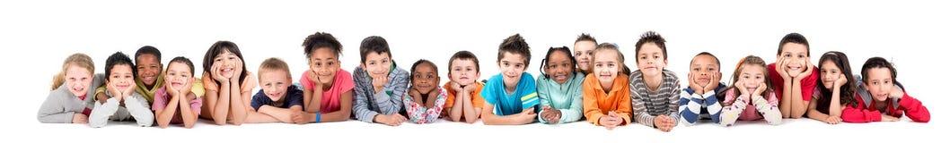 Группа в составе дети