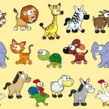 Группа в составе животные с предпосылкой Стоковые Фото