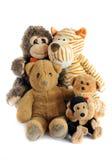 группа в составе игрушки игрушечного стоковая фотография