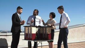 Группа в составе инженеры и архитекторы в встрече Стоковое фото RF