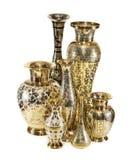 Группа в составе индийские вазы Стоковое Фото