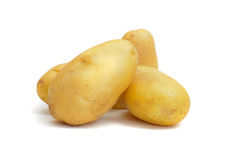 Группа в составе картошка Стоковое Фото